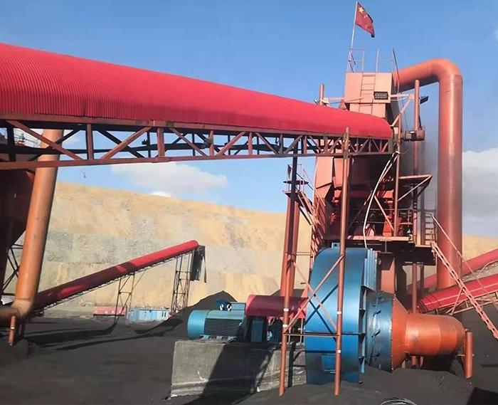 降灰风法干式选煤设备